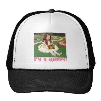 """¡Alicia, al recibir su corona, dice que"""" soy Gorras"""