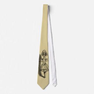 Alicia alta en el país de las maravillas corbatas personalizadas