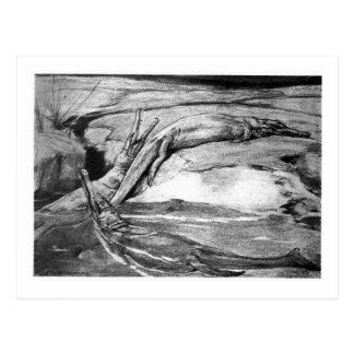 Alicia B. Woodward: Postal del arte de Metriorhync