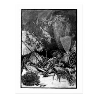 Alicia B. Woodward: Postal del arte del período cr