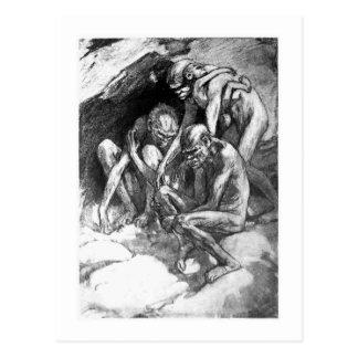 Alicia B. Woodward: Postal del arte del Pithecanth