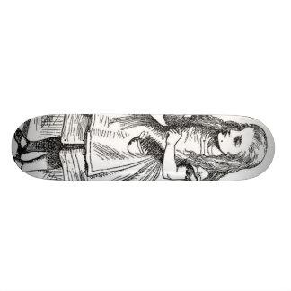 """Alicia con la """"bebida yo"""" botella skate board"""