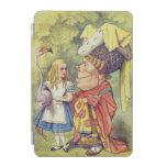 Alicia con la duquesa cubierta de iPad mini
