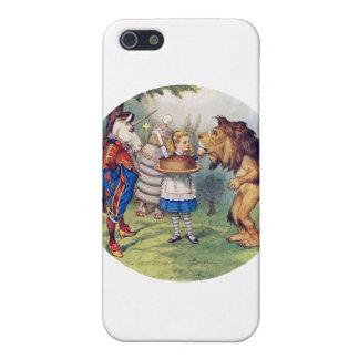 Alicia dice un león y la torta del unicornio lo ha iPhone 5 cobertura