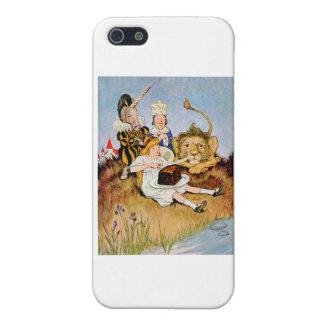 Alicia dice un león y la torta del unicornio lo ha iPhone 5 carcasas