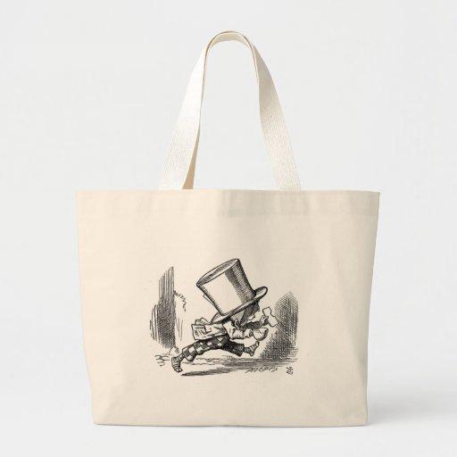 Alicia en bolsos del país de las maravillas bolsas lienzo