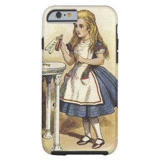 Alicia en caja dura del teléfono elegante del país funda de iPhone 6 tough
