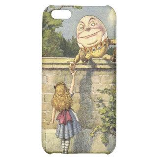 Alicia en caso del iphone de Humpty Dumpty del paí
