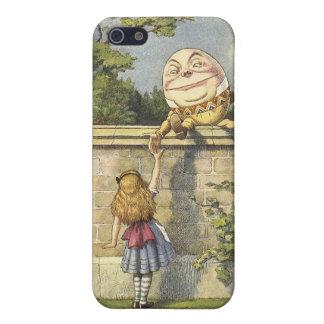 Alicia en caso del iphone de Humpty Dumpty del paí iPhone 5 Carcasa