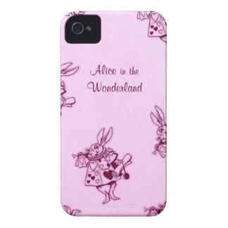 Alicia en caso del iphone del libro de la histori iPhone 4 Case-Mate cobertura