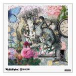 Alicia en collage del bonito del vintage del Dodo Vinilo
