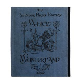 Alicia en cubierta de libro del país de las maravi