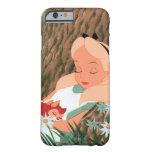 Alicia en dormir del país de las maravillas funda de iPhone 6 barely there