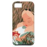 Alicia en dormir del país de las maravillas iPhone 5 protector