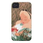 Alicia en dormir del país de las maravillas iPhone 4 Case-Mate protectores