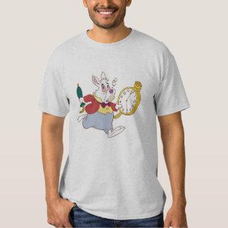 Alicia en el conejo blanco del país de las camisas
