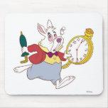 Alicia en el conejo blanco del país de las maravil alfombrilla de ratón