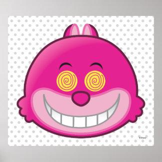 Alicia en el gato Emoji 3 del país de las Póster