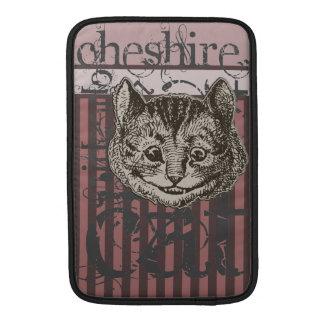Alicia en el Grunge del gato de Cheshire del país  Funda Macbook Air