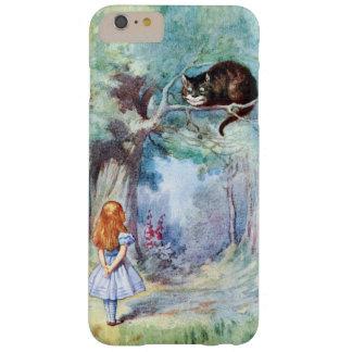 Alicia en el iPhone 6 del gato de Cheshire del Funda Para iPhone 6 Plus Barely There