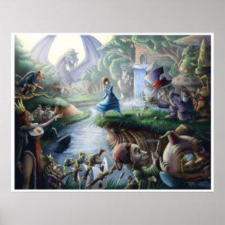 Alicia en el país de las maravillas: Caos Póster