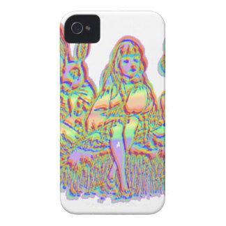 Alicia en el país de las maravillas Case-Mate iPhone 4 protector