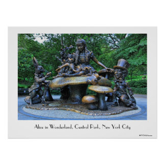 Alicia en el país de las maravillas - Central Park Poster