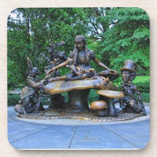 Alicia en el país de las maravillas - Central Park Posavasos De Bebida