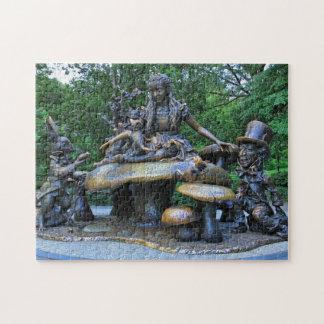 Alicia en el país de las maravillas - Central Park Puzzle Con Fotos