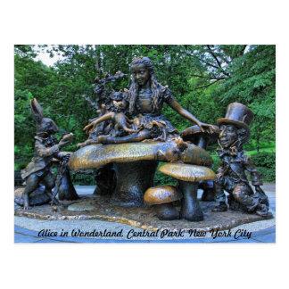 Alicia en el país de las maravillas - Central Park Postal