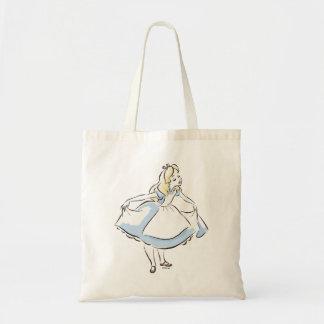 Alicia en el país de las maravillas el   esta bolsa tela barata