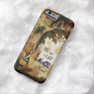 Alicia en el país de las maravillas estaba toda funda para iPhone 6 barely there