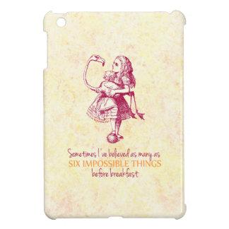 Alicia en el país de las maravillas iPad mini cárcasa