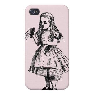 Alicia en el país de las maravillas iPhone 4 fundas
