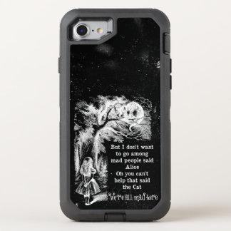 Alicia en el país de las maravillas; Gato de Funda OtterBox Defender Para iPhone 7