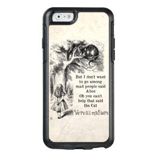 Alicia en el país de las maravillas; Gato de Funda Otterbox Para iPhone 6/6s