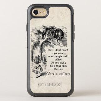 Alicia en el país de las maravillas; Gato de Funda OtterBox Symmetry Para iPhone 7