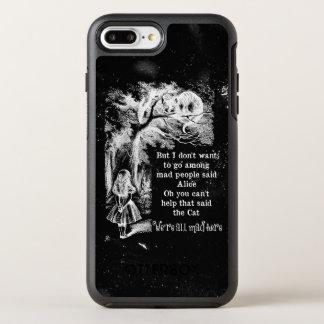 Alicia en el país de las maravillas; Gato de Funda OtterBox Symmetry Para iPhone 7 Plus