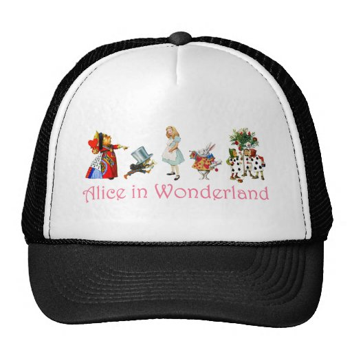 Alicia en el país de las maravillas gorras