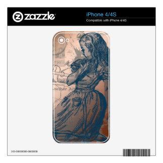 Alicia en el país de las maravillas iPhone 4 skins
