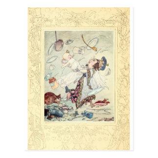 Alicia en el país de las maravillas, la duquesa, tarjeta postal