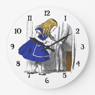Alicia en el país de las maravillas - la pequeña p relojes