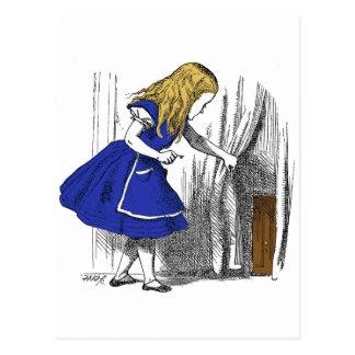 Alicia en el país de las maravillas - la pequeña p tarjetas postales