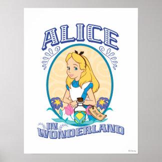 Alicia en el país de las maravillas - marco posters