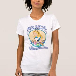Alicia en el país de las maravillas - marco camisetas