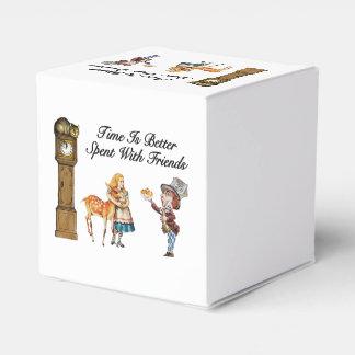 Alicia en el país de las maravillas mejor con los caja para regalos de fiestas
