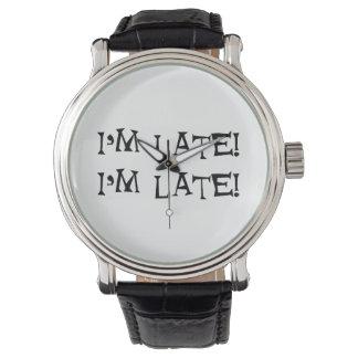 Alicia en el país de las maravillas relojes de pulsera