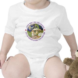 Alicia en el país de las maravillas - sabía quién trajes de bebé