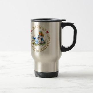 Alicia en el país de las maravillas - sígame tazas de café
