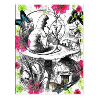 Alicia en el país de las maravillas tarjetas postales